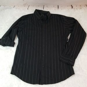 Murano mens pinstripe button down size m (K-001)